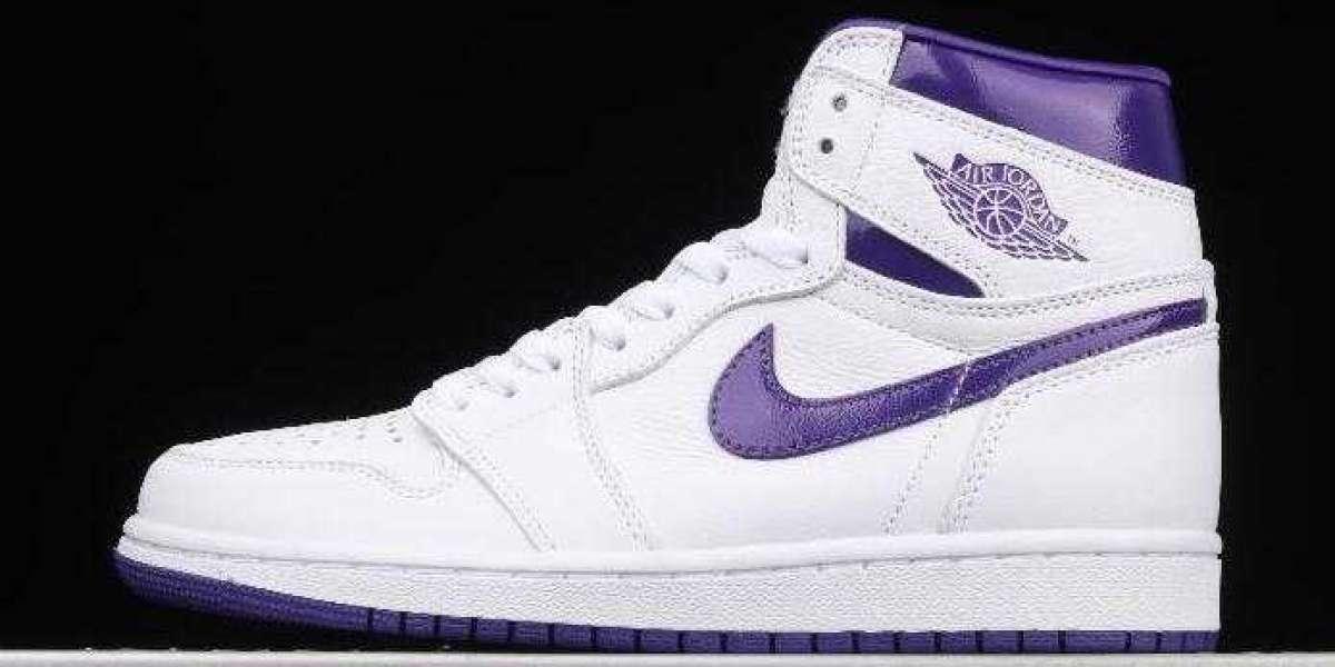 New Brand Air Jordan 1 High OG WMNS Court Purple for Sale
