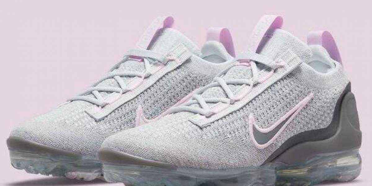 Latest Drops VaporMax2021 Releasing With Grey Pink Colorways