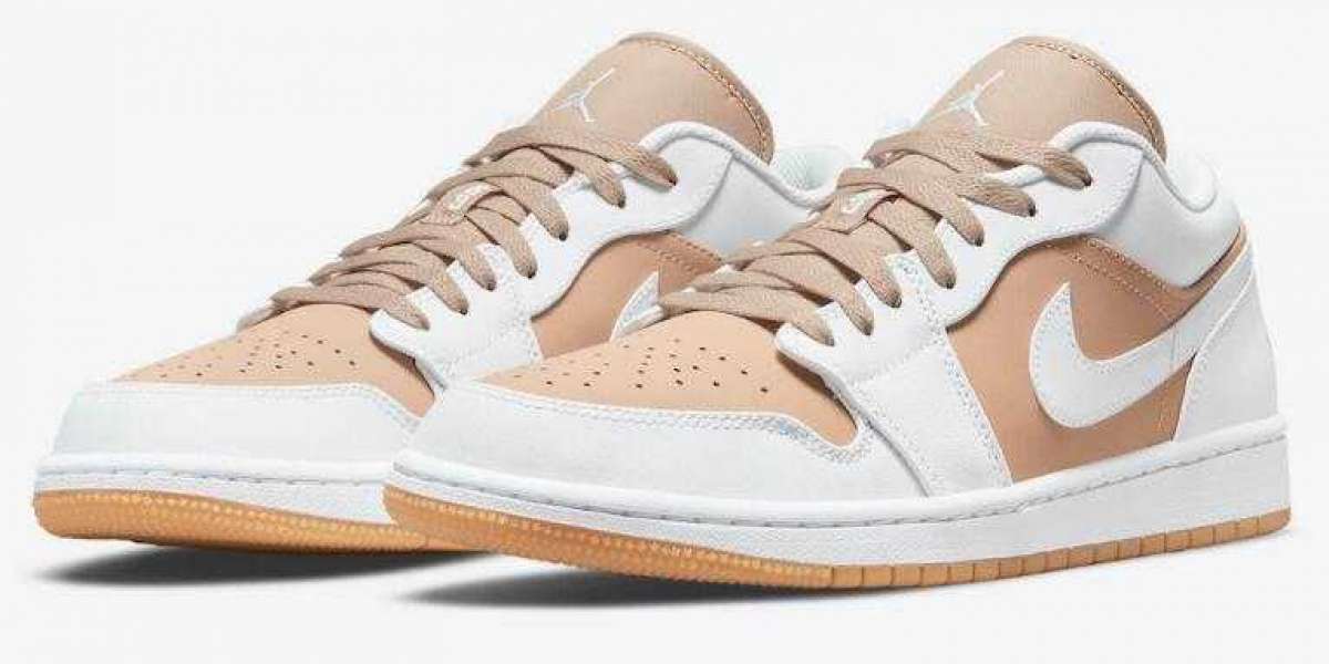 Newest Air Jordan 1 Low White Tan is Best Summer Running Shoes